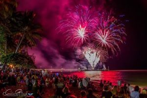 palm cove fireworks