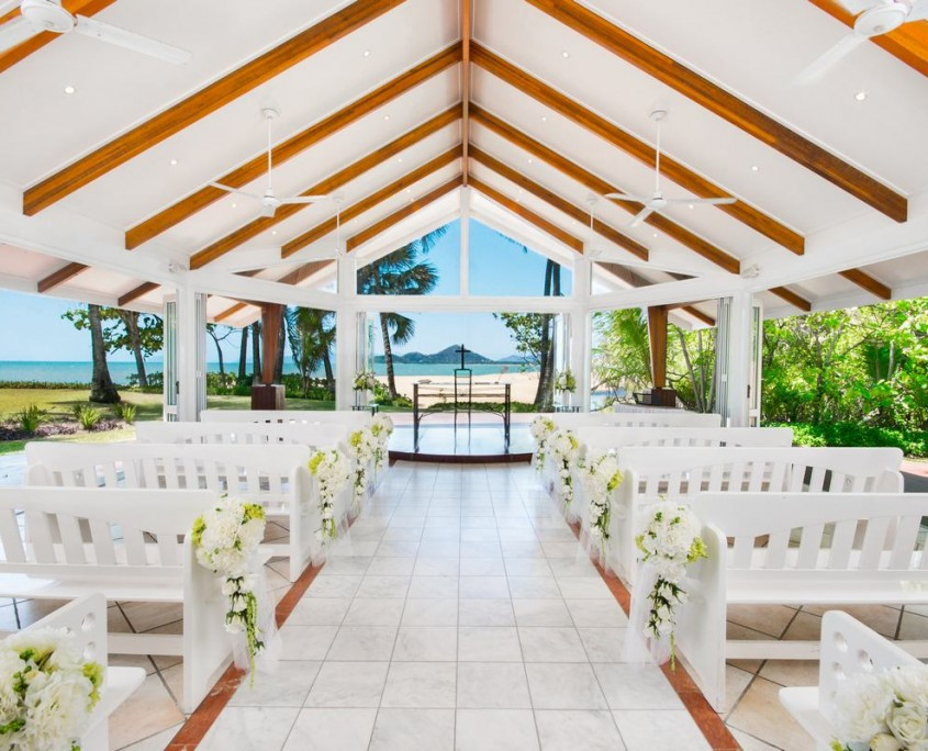 beach wedding chapel