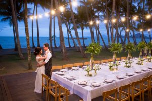 Reception by the sea